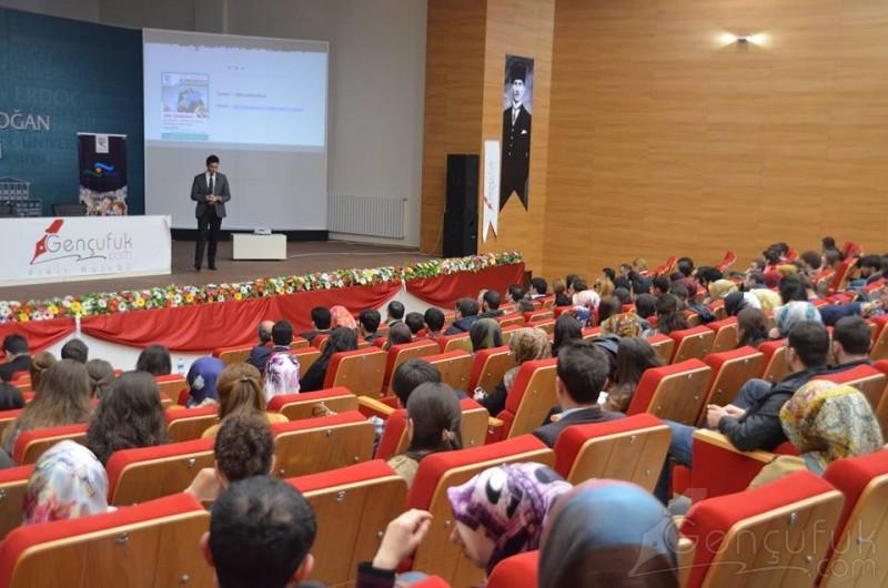 AE Arma-Elektropanç Y.K Üyesi Burak Kızılhan, Recep Tayyip Erdoğan Üniversitesi'nin Konuğu Oldu | Konferans