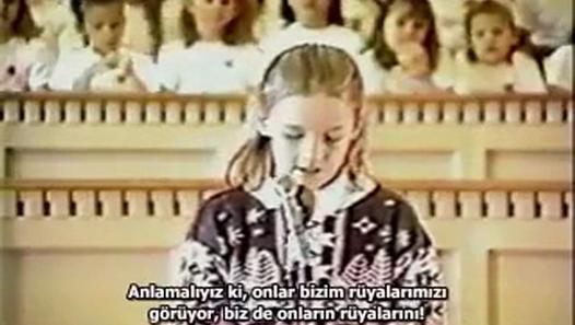 Rachel Corrie – 1989 – Dünya Çocuklarının Durumu Basın Konferansı