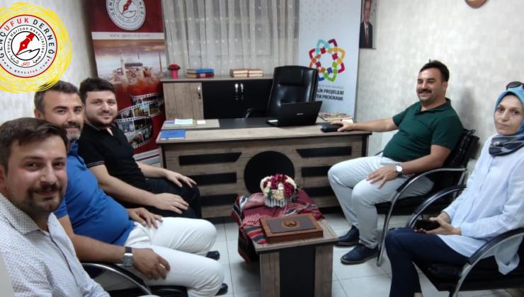 Ankara Gençlik ve Spor İl Müdürü Mustafa Çelik, Derneğimizi Ziyaret Etti